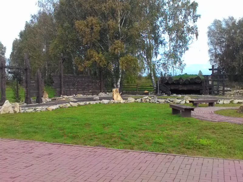 Мариинск. Мемориал жертвам Сиблага. Mariinsk. Memorial to the victims of Siblag.