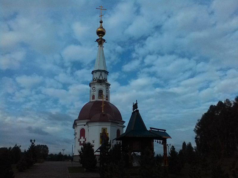 Мариинск. Мемориал жертвам Сиблага. Часовня. Mariinsk. Memorial to the victims of Siblag. Chapel.