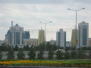 Столица Казахстана Астана. Astana - the capital of Kazakhstan.