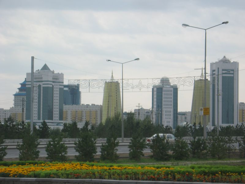 Столица Казахстана Астана. Astana. Capital of Kazakhstan.