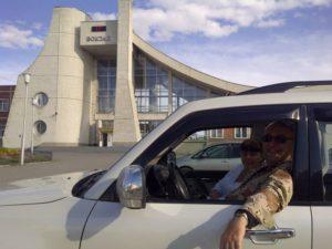 Северобайкальск. Железнодорожный вокзал. Severobaikalsk. Train Station.