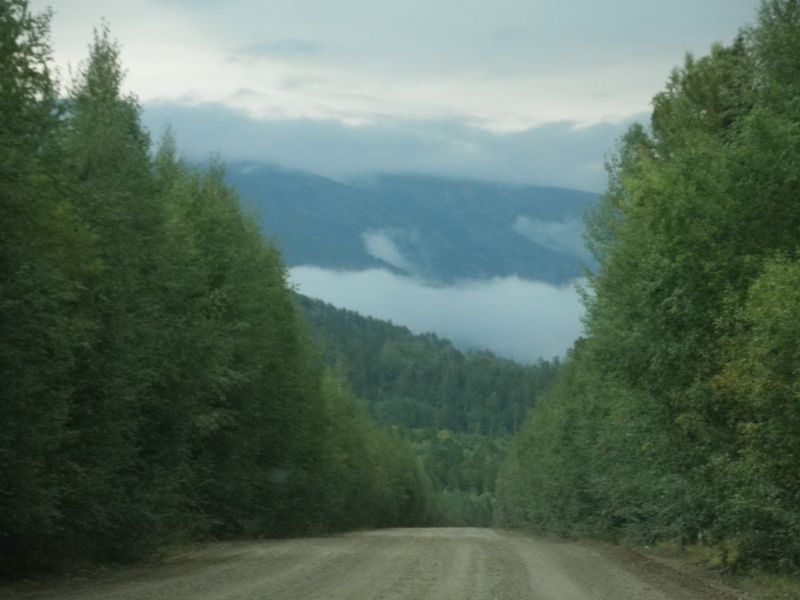 Северный Байкал. Дорога на Дзелинду.Northern Baikal. The road to Zelinda.