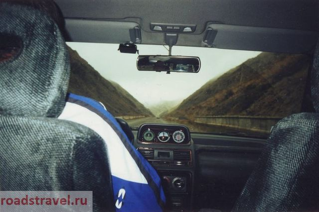 The first time on the roads of Russia. 2001 year.
