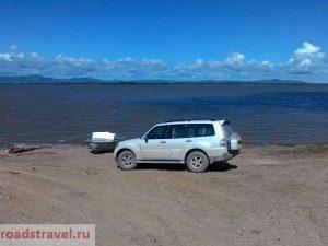 Река Амур. Хабаровский край. Россия. Amur river. Khabarovsk region. Russia.