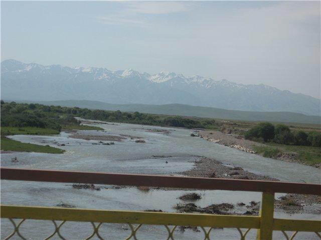 Река Каркара. Казахстан. The river Karkara. Kazakhstan.