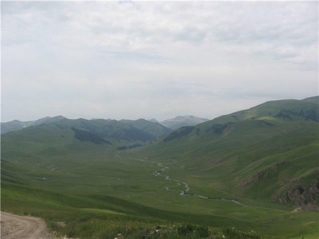 Река Кенсу. Казахстан. The Kensu River. Kazakhstan.