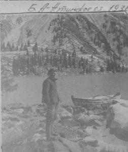 Большое Алма-Атинское озеро. 80 лет назад. The Big Alma-Ata Lake. 80 years ago.