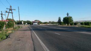 Талдыкорган. Начало объездной дороги. Taldykorgan. The beginning of the bypass road.