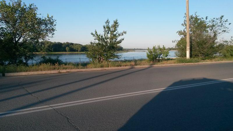 Казахстан. Семипалатинск (Семей). Река Иртыш. Kazakhstan. Semipalatinsk (Semey). The Irtysh river.