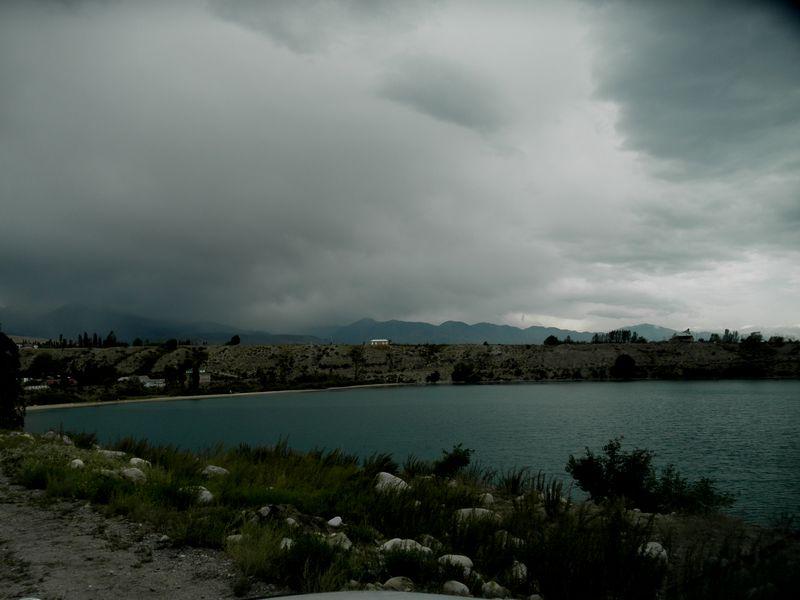 Киргизия. Озеро Иссык-Куль. Kyrgyzstan. Lake Issyk-Kul.