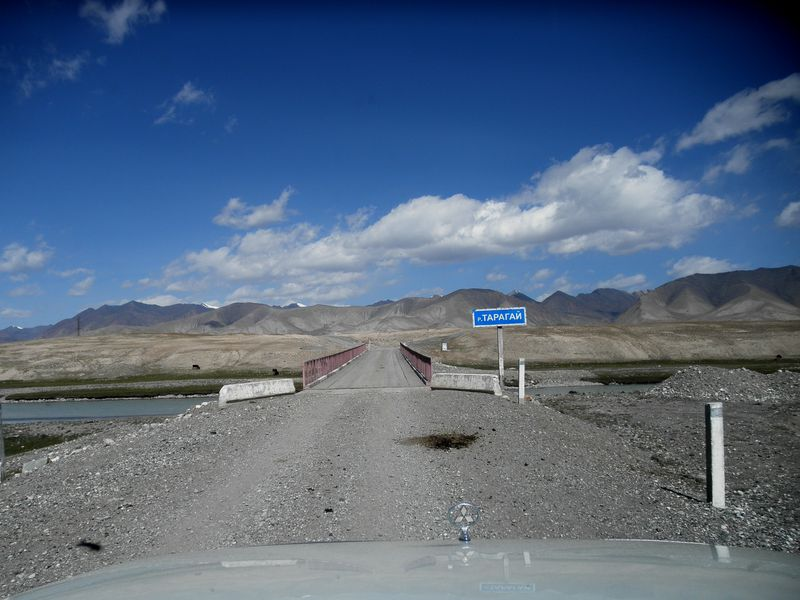 Тянь-Шань. Киргизия. Река Нарын в верхнем течении - река Тарагай. Tien Shan. Kyrgyzstan. The Naryn River in the upper reaches is the Taragai River.