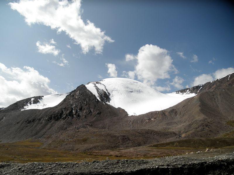 Тянь-Шань. Киргизия. Около перевала Барскаун. Tien Shan. Kyrgyzstan. Near the pass Barskaun.