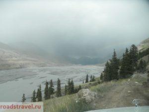Река Иныльчек. Тянь-Шань. Киргизия. Inylchek River. Tien Shan. Kyrgyzstan.