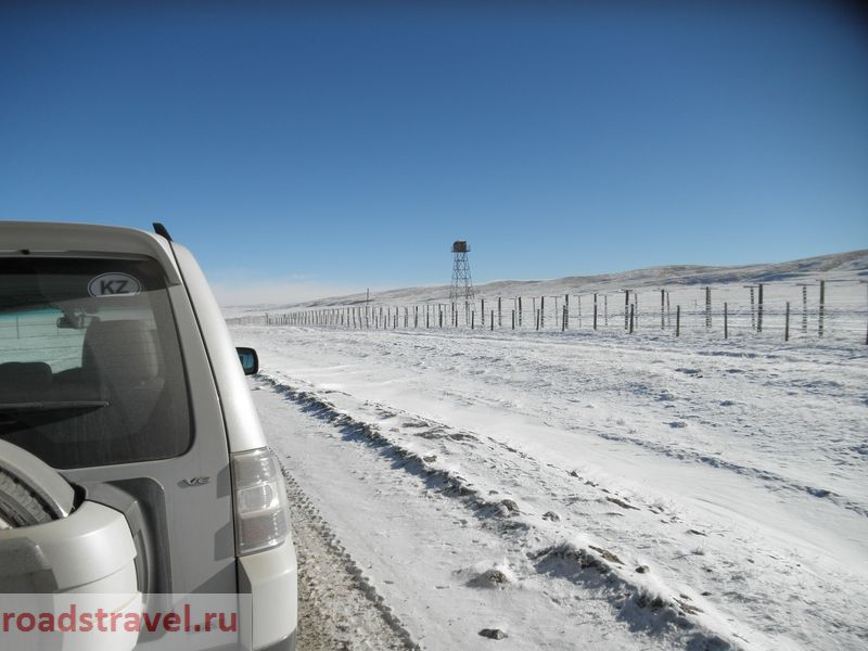 Тянь-Шань. Нарынская область. Торугарт. Граница с Китаем. Tien Shan. Naryn region. Torugart. The border with China.