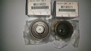 Бортжурнал Mitsubishi Pajero IV. Замена роликов ремня ГРМ . Logbook Mitsubishi Pajero IV. Timing belt pully replacement.