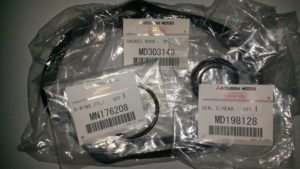 Бортжурнал Mitsubishi Pajero IV. Замена прокладок клапанных крышек . Logbook Mitsubishi Pajero IV. Gasket rocker cover replacement.