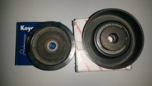 Бортжурнал Mitsubishi Pajero IV. Замена роликов ремня. Logbook Mitsubishi Pajero IV. Belt pulley replacement.