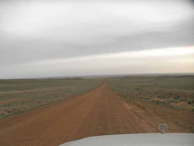 Дороги Казахстана. От посёлка Саксаульский на Бозой. Roads of Kazakhstan. From the village of Saksaulsky to Bozoy.