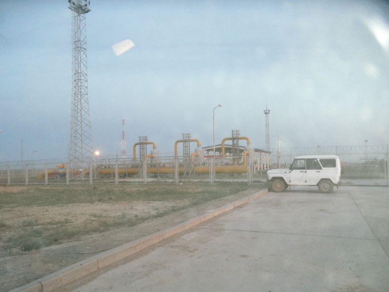 Казахстан. Газопровод