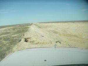 Дороги Казахстана. От Бозоя до Бейнеу вдоль газопровода. Roads of Kazakhstan. From Bozoy to Beyneu along the gas pipeline.
