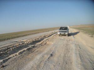 Дороги Казахстана. От Маката на Актюбинск. Roads of Kazakhstan. From Makat to Aktyubinsk.