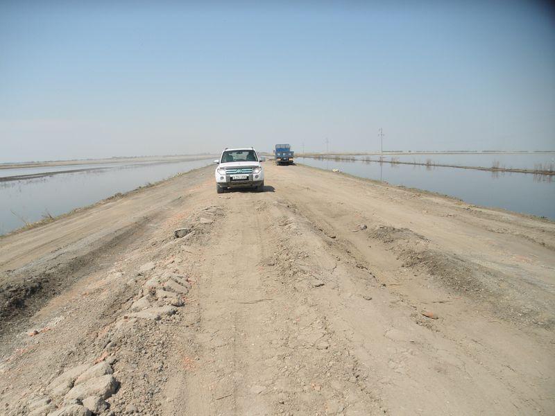 Дороги Казахстана. От Кустаная до Кокчетава. Roads of Kazakhstan. From Kostanay to Kokchetav.