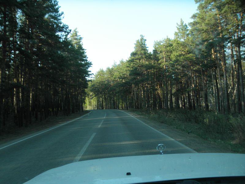 "Дороги Казахстана. От Кокчетава до Щучинска. Курортная зона ""Боровое"". Roads of Kazakhstan. From Kokchetav to Shchuchinsk. Resort area ""Borovoe""."