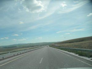 Дороги Казахстана. Магистраль от Талды-Кургана до Алма-Аты. Roads of Kazakhstan. The highway from Taldy-Kurgan to Alma-Ata.