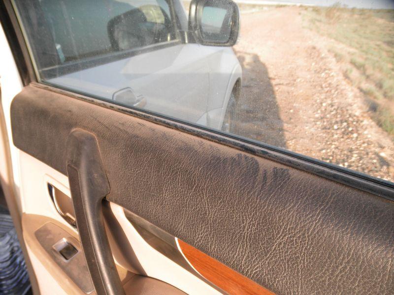Казахстан. Пыльные дороги Мангистау. Kazakhstan. Dusty roads of Mangistau.