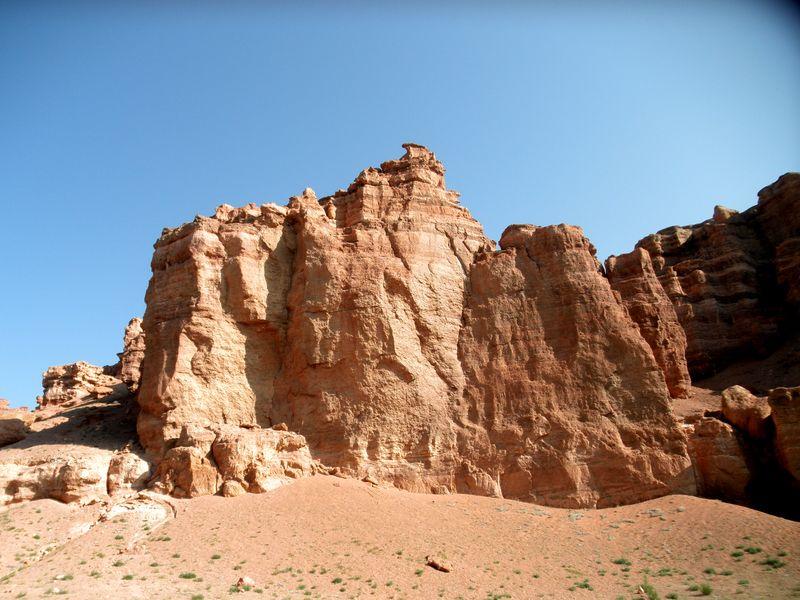 Казахстан. Чарынский каньон. Долина Замков. Kazakhstan. Charyn canyon. Valley Castles.
