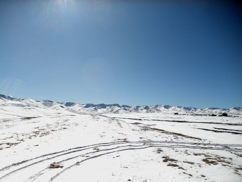 Плато Ассы. Обсерватория. Assy Plateau. Observatory.
