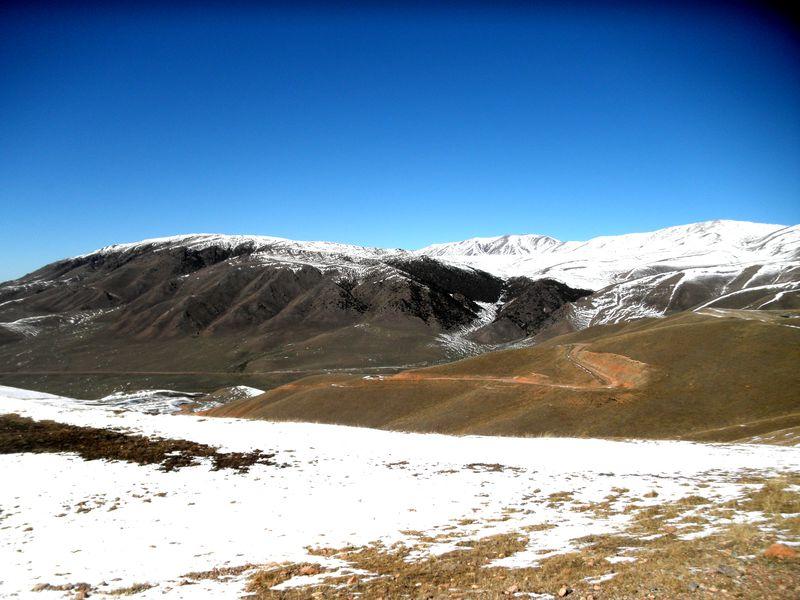 Тургеньское ущелье. Дорога на обсерваторию. Turgen Gorge. Road to the observatory.