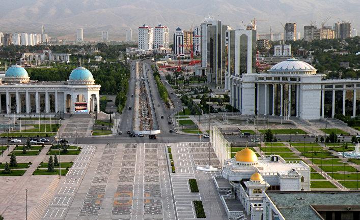 Ашхабат. Столица Туркменистана. Ashgabat. The capital of Turkmenistan.