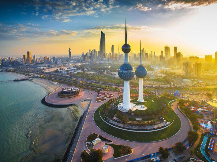Эль-Кувейт. Столица Государства Кувейт. Kuwait City. The capital of the State of Kuwait.