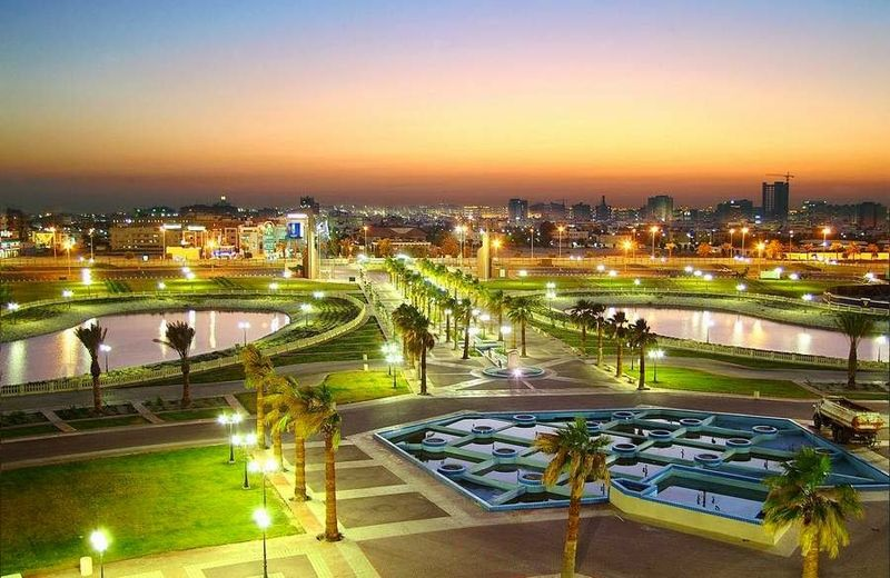 Город Даммам. Королевство Саудовской Аравии. City of Dammam. Kingdom of Saudi Arabia.