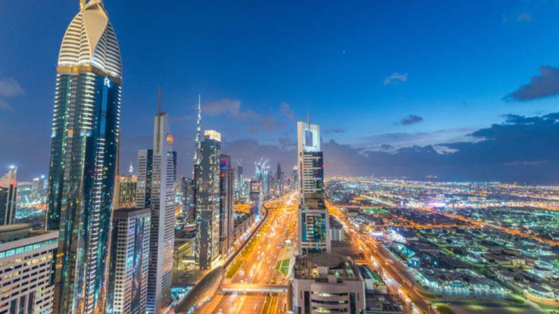 Город Дубай. Объединённые Арабские Эмираты. Dubai city. United Arab Emirates.