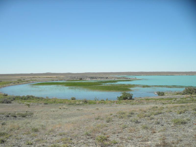 Казахстан. Озеро Балхаш. Северный берег. Kazakhstan. Lake Balkhash. North coast.
