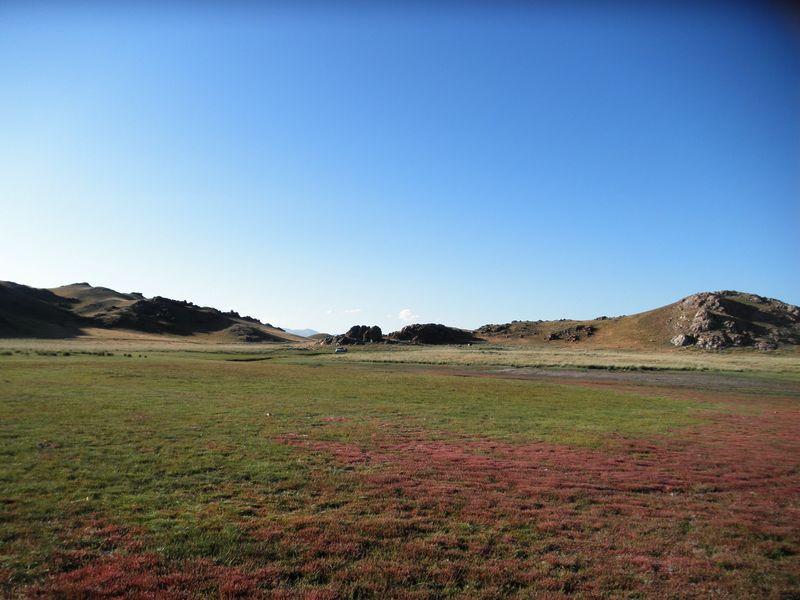 Солёное озеро Тузколь. Казахстан. Salt Lake Tuzkol. Kazakhstan.