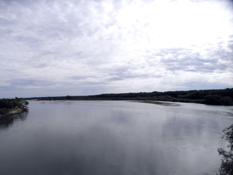 Река Чёрный Иртыш до впадения в озеро Зайсан. Восточный Казахстан. The Black Irtysh River before its confluence with Lake Zaisan. Eastern Kazakhstan.