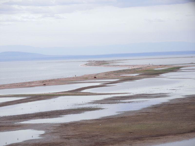 Мыс Шекельмес. Северный берег озера Зайсан. Восточный Казахстан. Cape Shekelmes. The northern shore of Lake Zaysan. Eastern Kazakhstan.