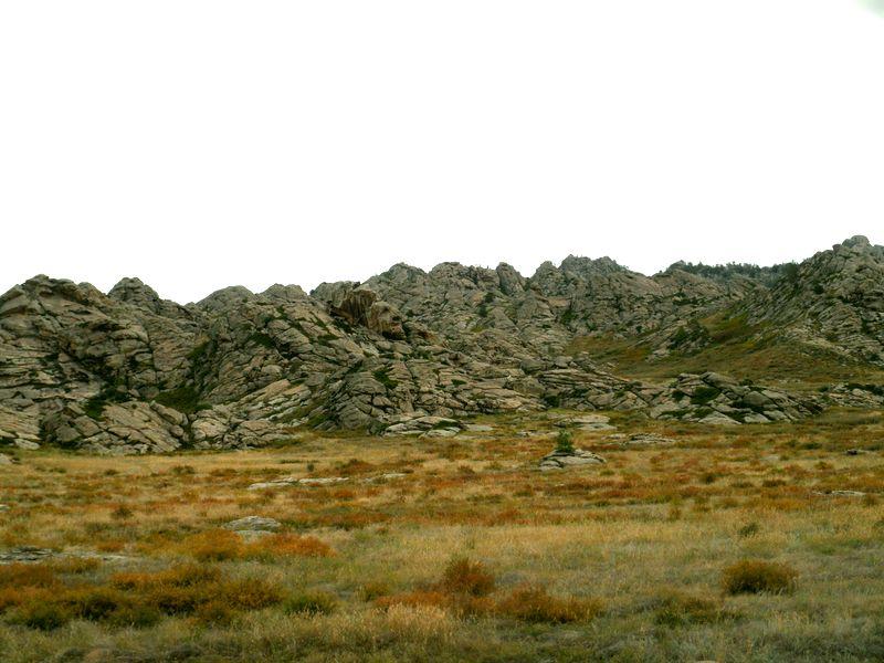 Восточный Казахстан. Дорога на Курчум. Eastern Kazakhstan. The road to Kurchum.