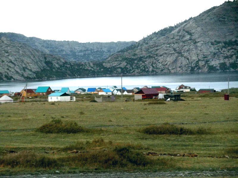 Сибинские озёра. Восточный Казахстан. Sibinskie lakes. Eastern Kazakhstan.