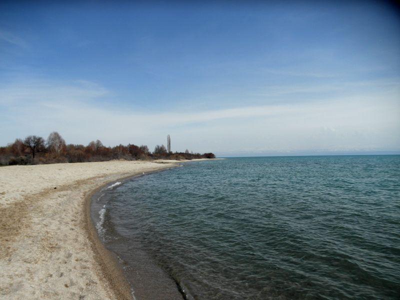 Озеро Иссык-Куль. Северный берег. Киргизия 2021. Issyk-Kul lake. North Shore. Kyrgyzstan 2021.