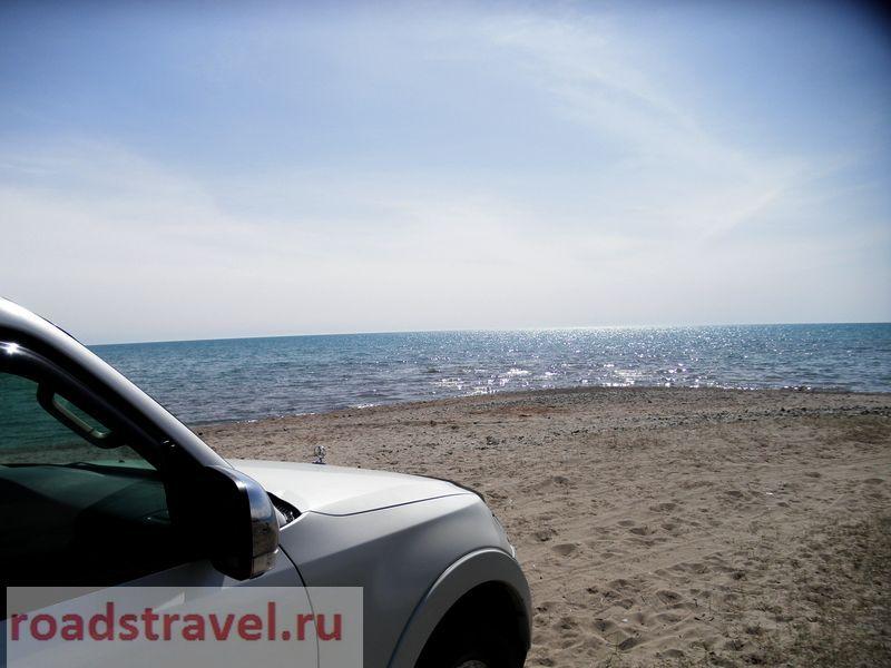 Иссык-Куль: Море, горы и дорога. 2021.
